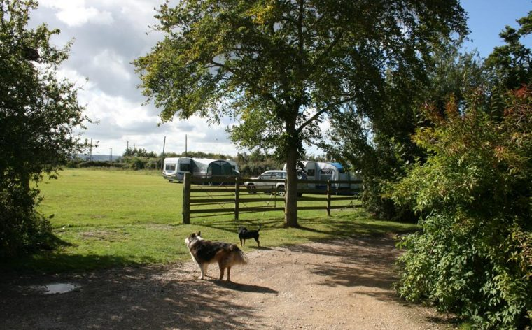 Caravans at Greenway Farm